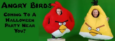 The Smash Hit Game Angry Birds Now Making It's Appearance At A Halloween Party Near You.