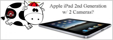 2nd Generation iPad's to have 2 Cameras, Another rumor straight from another random memo found under someone's coffee table... But this one's definitely true?!?